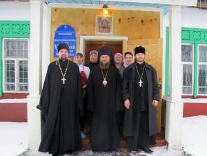 Святительский визит в Баганский и Купинский районы.