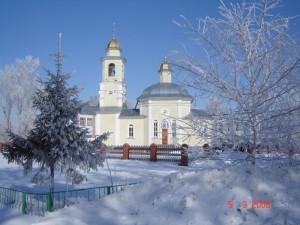 Храм в честь Рождества Христова, с. Кочки