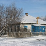 Сельский храм с. Волчанка.