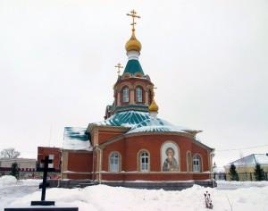 Кафедральный собор во имя св. апостола Андрея Первозванного, г. Карасук.