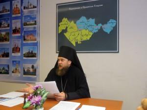 Доклад епископа Филиппа на годовом Епархиальном собрании Карасукской епархии  г. Карасук