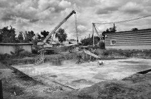 Невероятно, но уже построена фундаментная плита для храма  Святой Троицы р. п. Краснозерского!