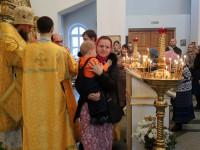 Литургия в Кафедральном соборе св. апостола Андрея Первозванного г. Карасука