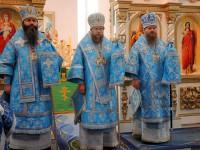 Три епископа на епархиальном празднике Карасукской и Ордынской епархии  (видео)