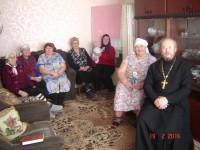 Миссионерский визит священнослужителя в пос. Рождественский Кочковского района