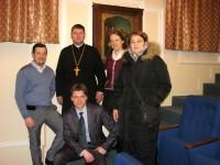 Отец Роман и члены патриаршей комиссии по вопросам семьи