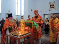 Вселенская родительская суббота. За Литургией в Ордынске молились о мире на Украине и упокоении погибших