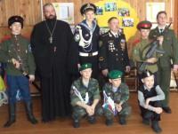 Открытие Православного военно-патриотического объединения «Сибирский Спас» в Чистоозерном