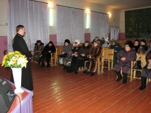 Духовная беседа с местным населением