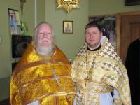 Сослужение с протоиереем Дмитрием Смирновым