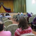 Духовная беседа с жителями села Нижний Чулым