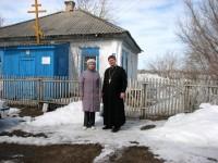 Сельский храм в Волчанке Доволенского района