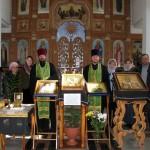 У епархиальных святынь в р.п. Чистоозерное