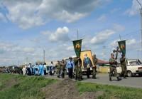 Крестный ход по границе России и Казахстана  (видео)