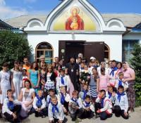 Открытие Православного  детского лагеря  для детей-сирот