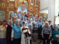 Престольный праздник в  храме р. п. Чистоозерного (видео)
