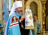 Предстоятелем Украинской Православной Церкви избран митрополит Черновицкий и Буковинский Онуфрий