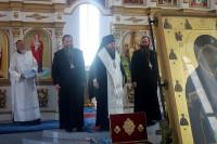 Дружественный визит епископа Артемия и епископа Феодосия в Карасукскую епархию