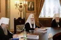 Слово Святейшего Патриарха Кирилла на заседании Высшего Церковного Совета 25 июня 2015 года