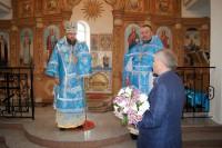 Визит епископа Филиппа на престольный праздник в р. п. Чистоозерное