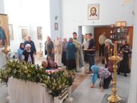 Успение в соборе Живоначальной Троицы р. п. Ордынского