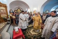 На святом источнике в Ложке освящен храм во имя Новомучеников и исповедников Церкви Русской