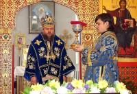 Архиерейская Литургия в Иоанно-Предтеченском мужском монастыре г. Новосибирска (видео)