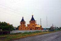 Освящение нового храма свв. блгвв. князей Бориса и Глеба в с. Багане