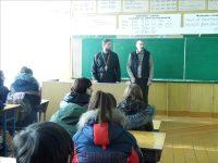 Встреча с молодежью  с. Здвинска