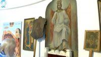 В одном из храмов Новосибирской области чудесным образом обновились иконы (видео)