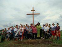 Поклоннный крест в д. Шамонихе