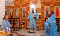 Праздник Рождества Пресвятой Богородицы в р. п. Чистоозерном