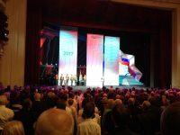 Протоиерей Евгений  Зверев посетил торжественное собрание и праздничный концерт, посвященные празднованию 80-летнего юбилея Новосибирской области