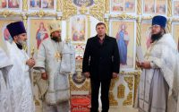 Освящение нового храма св. блг. князя Глеба в  селе Кирзе (видео)