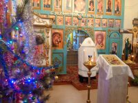 Праздник Рождества  в ордынском храме «Неопалимая купина»