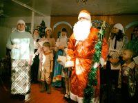 Рождество в приходе во имя  прп. Сергия Радонежского р. п. Краснозерского
