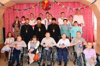 Епископ Филипп и епископ Лука в рождественские дни поздравили  детей-сирот и детей-инвалидов (видео)
