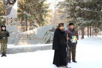 Праздник Сретения Господня в Ордынске и 29-ая  годовщина вывода советских войск из Афганистана (видео)
