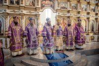 Шесть архиереев  посетили Карасукскую и Ордынскую  епархию (видео)