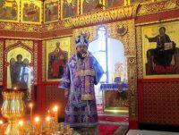 Архиерейская Литургия в Иоанно-Предтеченском  монастыре г. Новосибирска
