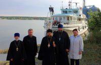 Миссионерский корабль «Святой  ап. Андрей Первозванный» прибыл в Ордынский район Карасукской епархии (видео)