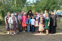 Архиерейская литургия в селе Хорошем