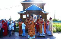 Престольный праздник в селе Багане (видео)