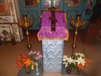 Начало Успенского поста в ордынском храме