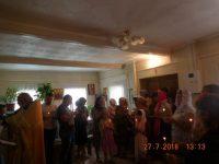 Крещение в Комарье