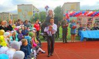 Епископ Филипп поздравил с 1 сентября учащихся технического лицея №176 г. Карасука (видео)
