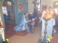 Престольный праздник  в храме в честь иконы Божией Матери «Неопалимая купина» р. п. Ордынское