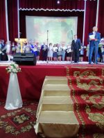 Августовская учительская конференция  и школьная линейка в Кочках