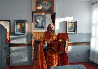 Литургия в самом бедном храме епархии — в с. Веселовском