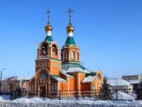 Престольный праздник в Кафедральном соборе св. апостола Андрея Первозванного г. Карасука